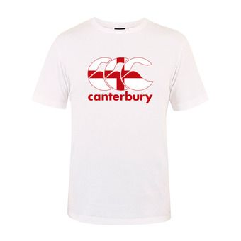 Canterbury TEAM PLAIN - Camiseta hombre white england