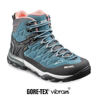 Zapatillas de aproximación mujer TERENO MID GTX® blue jeans/salmon