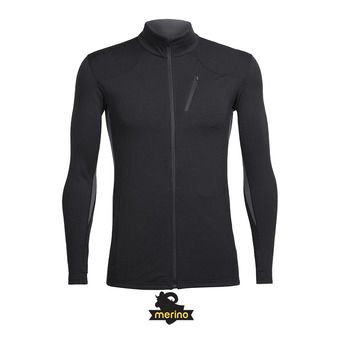 Icebreaker FLUID ZONE - Sweat Homme black