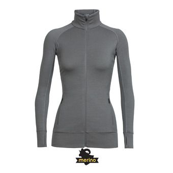 Sweat zippé femme FLUID ZONE black