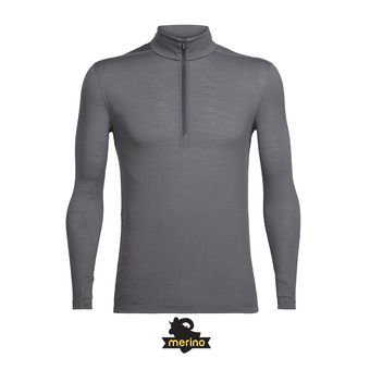 Sweat 1/2 zippé homme ZEAL metal