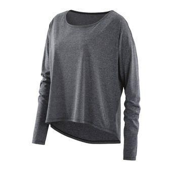 Camiseta mujer ACTIVEWEAR PIXEL black/marle