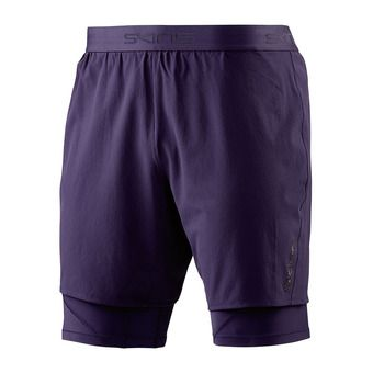 Skins SUPERPOSE DNAMIC - Short 2 en 1 Homme mariner