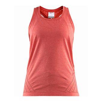 Camiseta de tirantes mujer CORE 2.0 dahlia jaspeado