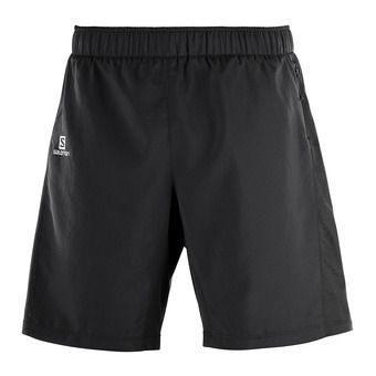 Short 2 en 1 homme AGILE black