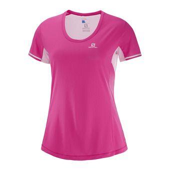 Camiseta mujer AGILE pink yarrow