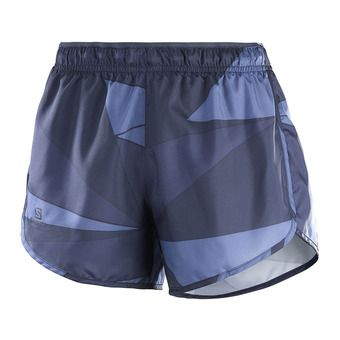 Short femme AGILE night sky/gy/crown blue