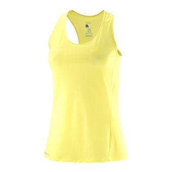 Camiseta de tirantes mujer AGILE limelight