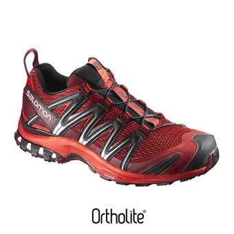 Chaussures trail homme XA PRO 3D red dalhia/fiery red/black