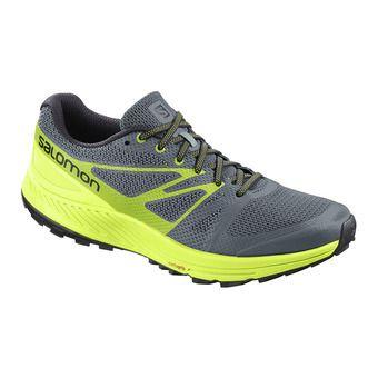 Chaussures trail homme SENSE ESCAPE stormy wea/acid lime