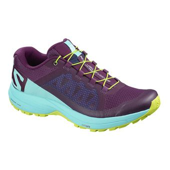 Chaussures trail femme XA ELEVATE dark purple/blue curacao