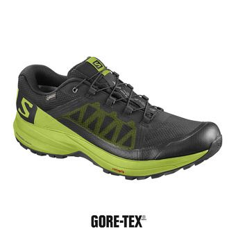 Zapatillas de trail hombre XA ELEVATE GTX® black/lime green
