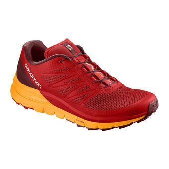 Zapatillas de trail hombre SENSE PRO MAX fiery red/bright marigold