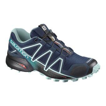 Salomon SPEEDCROSS 4 - Trail Shoes - Women's - poseidon/eggshell blue
