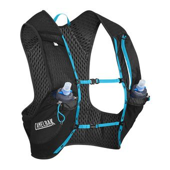 Gilet d'hydratation 1.5+1L NANO black/atomic blue