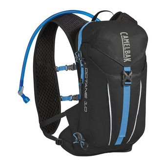 Sac à dos d'hydratation 8L OCTANE™ 10 + poche à eau 2L CRUX™ black/atomic blue