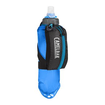 Gourde 500ml + poignée de transport NANO black/atomic blue