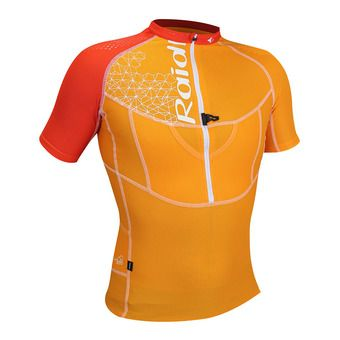 Camiseta hombre X FIT 3D orange/pimento