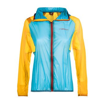 Chaqueta mujer BRIZA WINDBREAKER malibue blue/yellow
