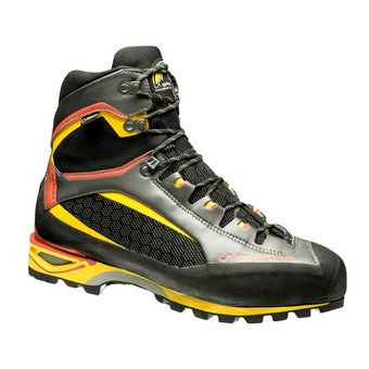 La Sportiva TRANGO TOWER GTX - Chaussures alpinisme Homme black/yellow