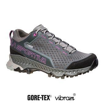 Zapatillas de senderismo mujer TSPIRE GTX® carbon/purple