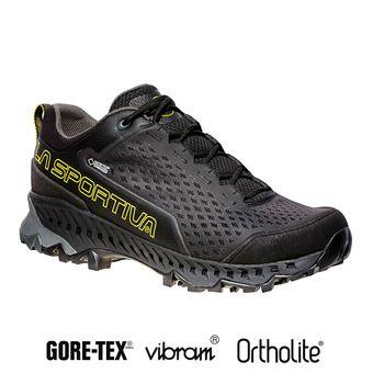Zapatillas de senderismo hombre SPIRE GTX® black/yellow