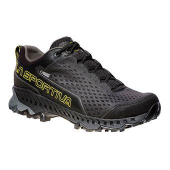 La Sportiva SPIRE GTX - Chaussures randonnée Homme black/yellow