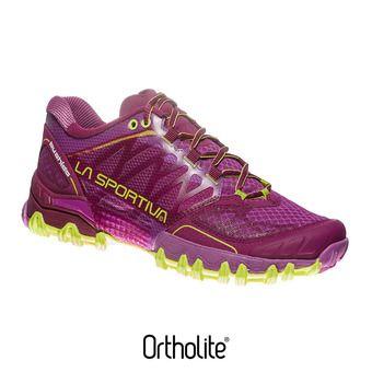 Chaussures trail femme BUSHIDO plum/apple green