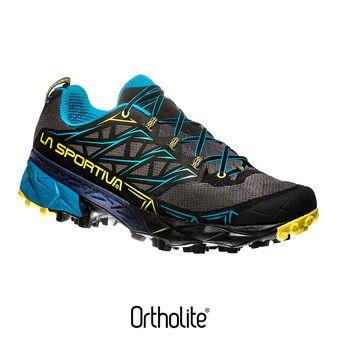 La Sportiva AKYRA - Scarpe da trail Uomo carbon/tropic blue
