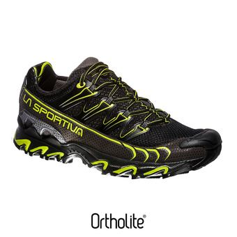 La Sportiva ULTRA RAPTOR - Chaussures trail Homme black/apple green