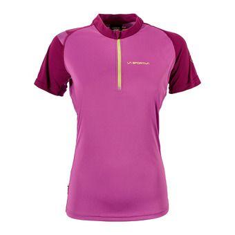 Camiseta mujer FORWARD purple/plum