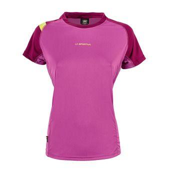 Camiseta mujer MOVE purple/plum