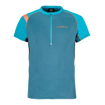 Maillot MC homme ADVANCE lake/tropic blue