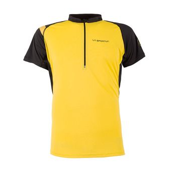 Maillot MC homme ADVANCE yellow/black