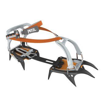 Crampons IRVIS black/orange