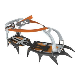 Petzl VASAK FLEXLOCK - Crampones black/grey/orange