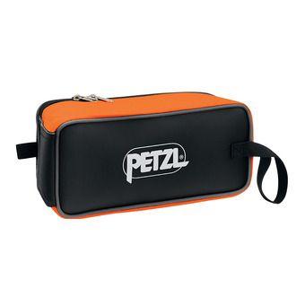 Petzl FAKIR - Bolsa para crampones negro/naranja