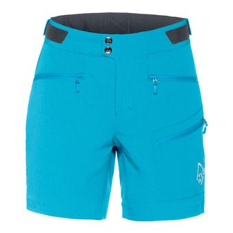Bermuda Shorts - Women's - FALKETIND FLEX™1 blue moon