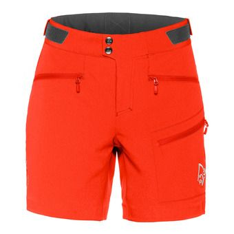 Bermuda Shorts - Women's - FALKETIND FLEX™1 crimson kick