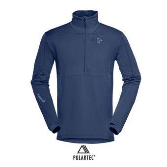 Norrona FALKETIND WARM1 STRETCH - Polaire Homme indigo night
