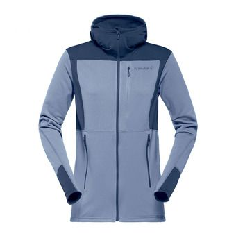 Hooded Polartec® Fleece - Women's - FALKETIND WARM1 bedrock