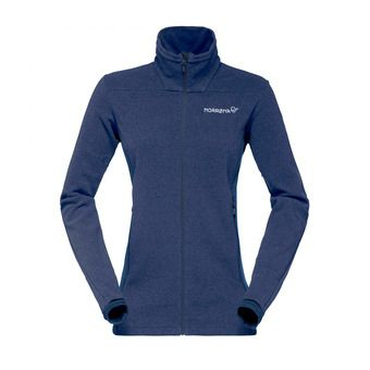 Fleece - Women's - FALKETIND WARM1 indigo night