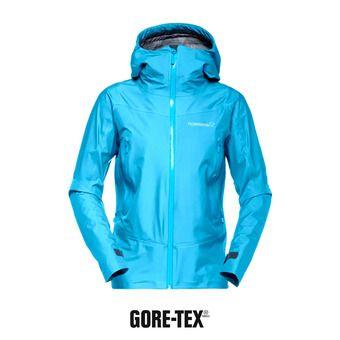 Veste à capuche Gore-Tex® femme FALKETIND blue moon