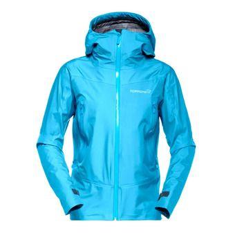 Gore-Tex® Hooded Jacket - Women's - FALKETIND blue moon