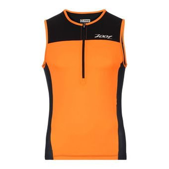 Maillot 1/2 zip trifonction homme CORE TRI ultra orange