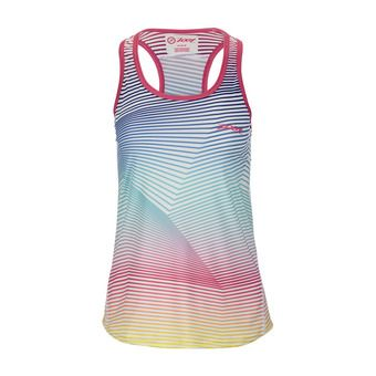 Maillot sans manches femme CHILL OUT PRINT sunset