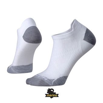 Calcetines mujer PHD RUN ULTRA LIGHT MICRO white/light gray