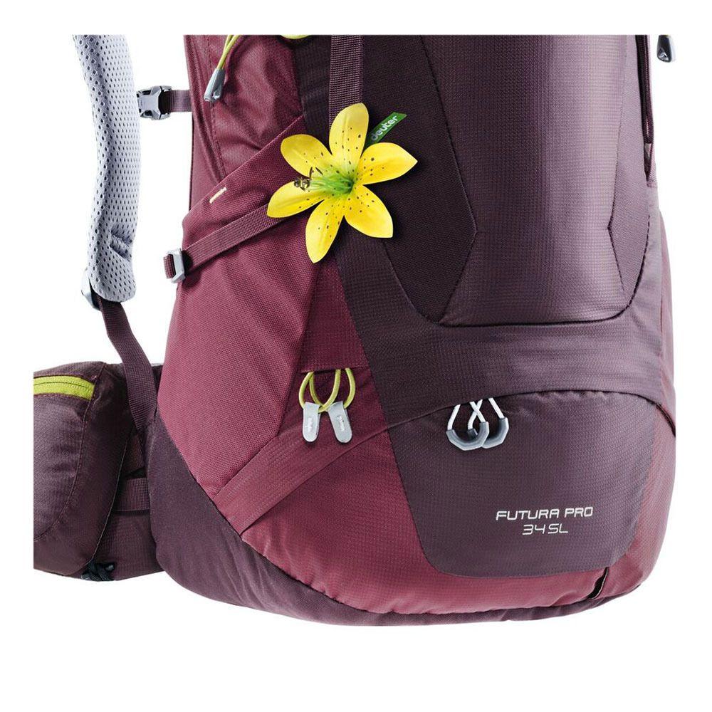 sac dos femme 34l futura pro aubergine marron private sport shop. Black Bedroom Furniture Sets. Home Design Ideas