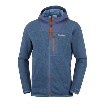 Veste polaire homme ALTITUDE ASPECT blue heron/dark mountain