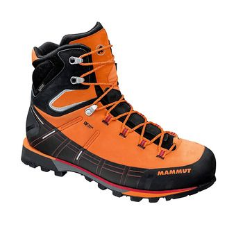 Mammut KENTO HIGH GTX - Hiking Shoes - Men's - sunrise/black